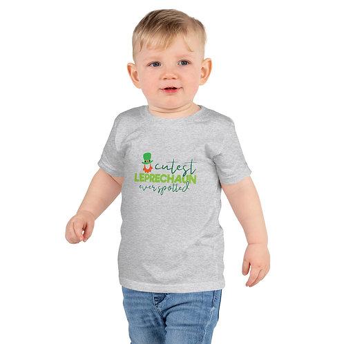 St. Patty's Cutest Leprechaun Short sleeve kids t-shirt