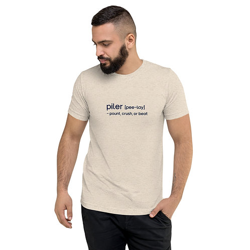 """Pee-Lay"" Cajun French Short sleeve t-shirt"