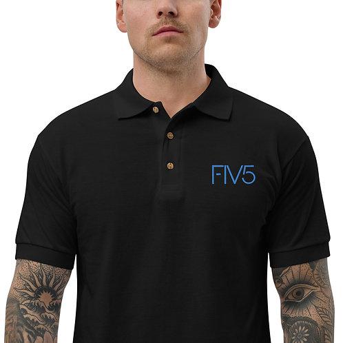 FIV5 Embroidered Polo Shirt