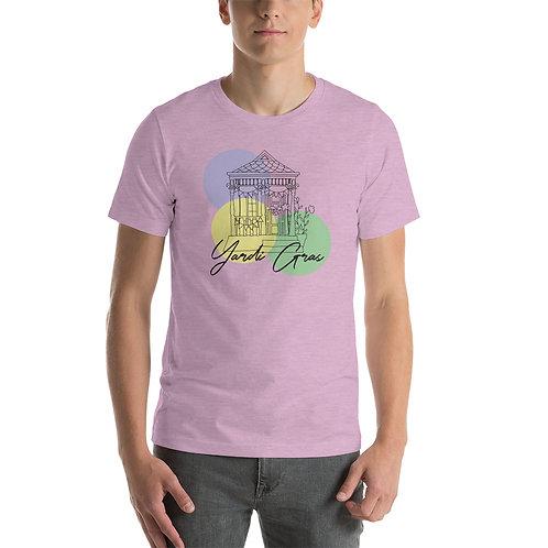 Yardi Gras Dots Short-Sleeve Unisex T-Shirt