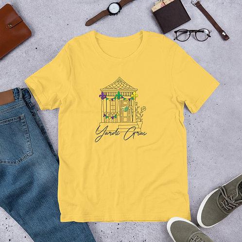 Yardi Gras 21 Short-Sleeve Unisex T-Shirt