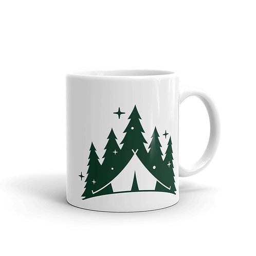 Tent Camping Mug