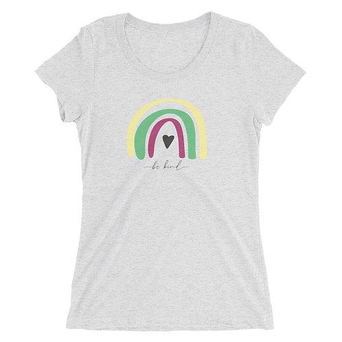 Ladies' be kind short sleeve t-shirt