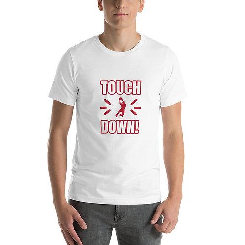 Touch Down Short-Sleeve Unisex T-Shirt