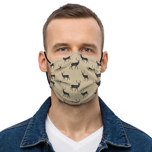 Deer Print Premium face mask