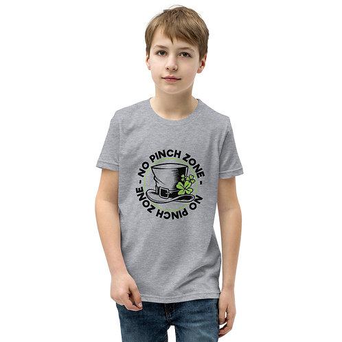 St. Patty's No Pinch Zone Youth Short Sleeve T-Shirt
