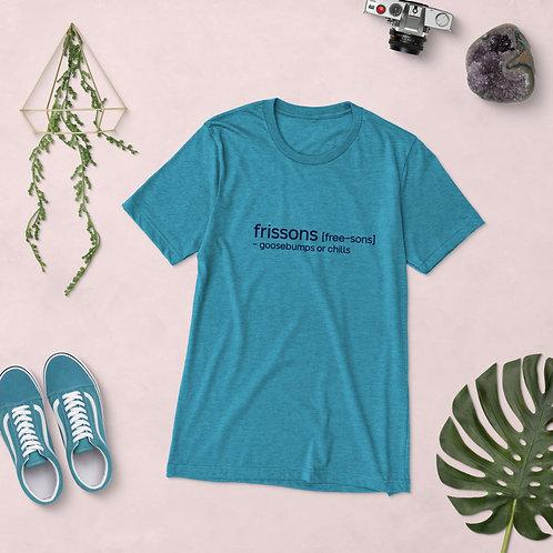 """Goosebumps"" Cajun French Short sleeve t-shirt"