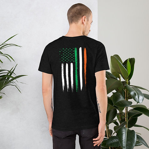 Irish American Short-Sleeve Unisex T-Shirt