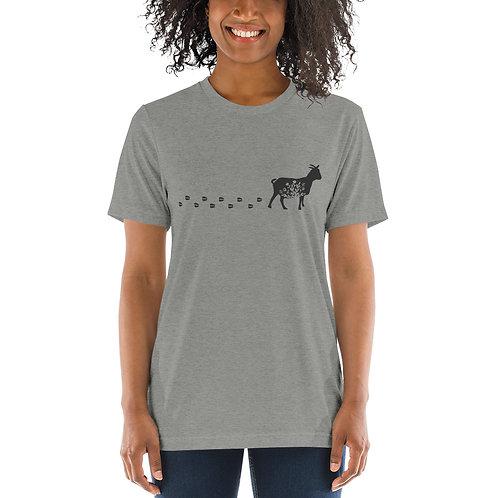 Floral Goat Short sleeve t-shirt