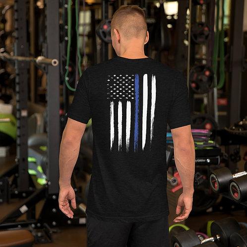 Back the Blue Short-Sleeve Unisex T-Shirt