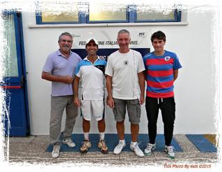 Alessandro Bartolini senza rivali al Tennis Patavium
