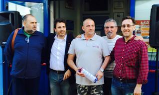 Torneo della solidarietà veneta: consegna del ricavato alla famiglia Favretto. Grazie!!