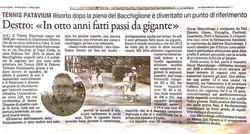 Gazzettino - 29 agosto 2016