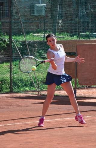 Passione tennis: la nostra Giulia Morello