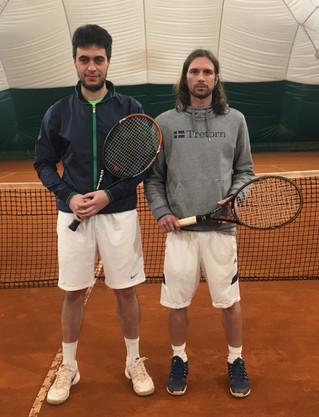Premiazioni Rodeo asd tennis Patavium 18 e 19 marzo