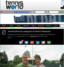 Tennis World - 3 aprile 2013