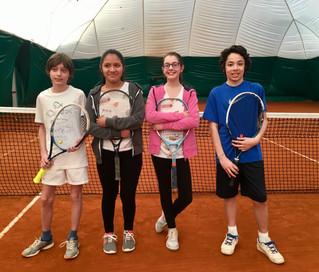 Gli allievi del Tennis Patavium ai Campionati SuperGreen