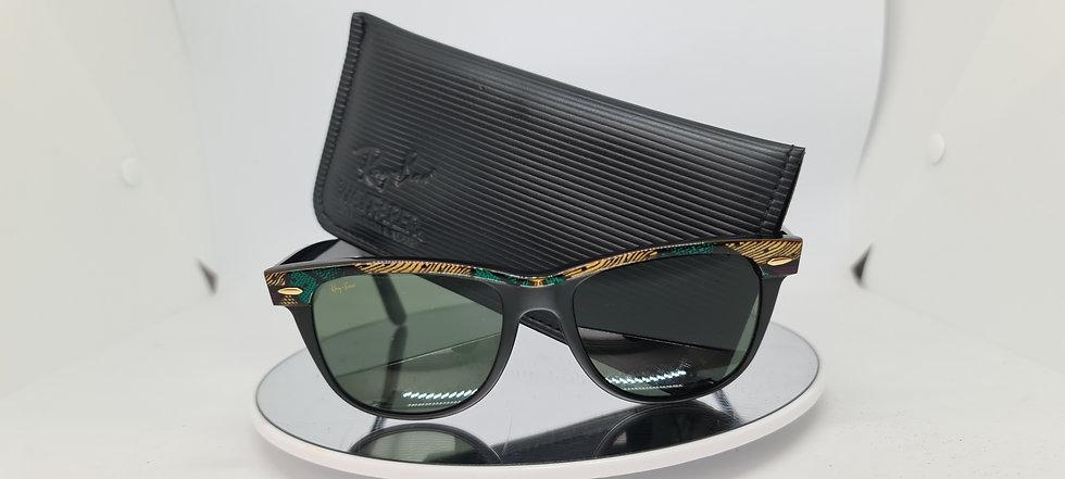 Vintage B&L Ray-Ban Wayfarer 2 Aztec Purple Sunglasses