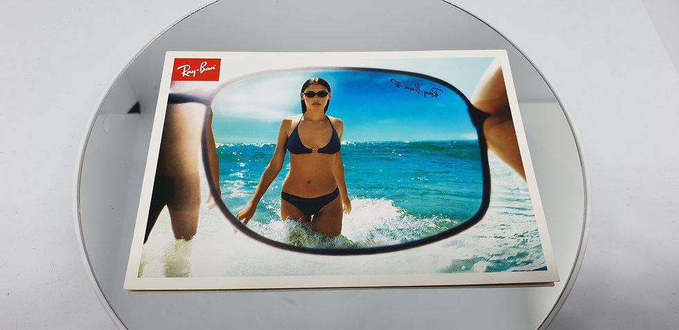 Vintage B&L Ray-Ban Polarised Postcard
