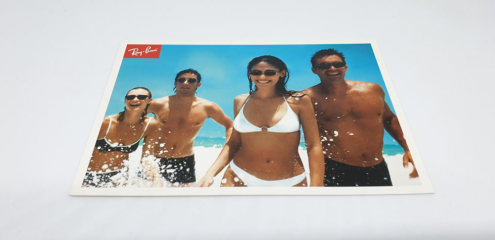 B&L Ray-Ban 'A Wave of New Styles' Postcard