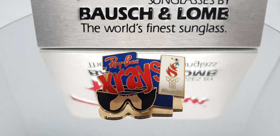 Vintage B&L Ray-Ban Xrays Olympic Pin