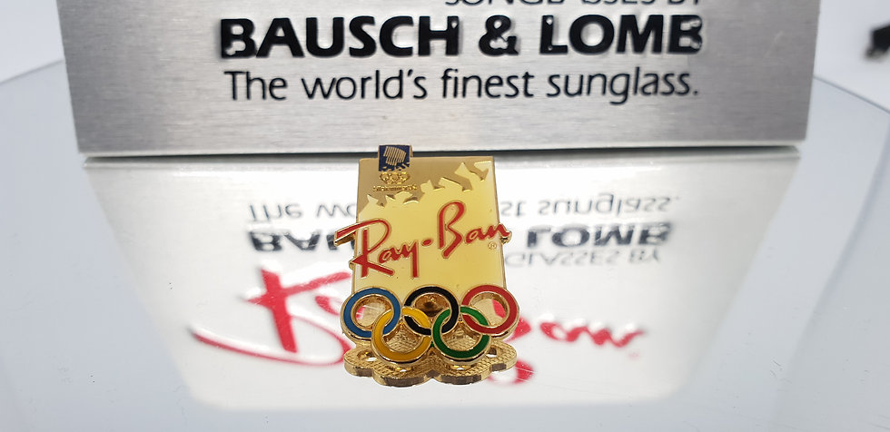 Vintage B&L Ray-Ban Olympic Pin
