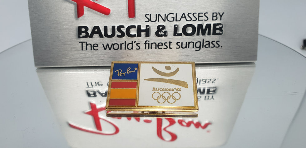 Vintage B&L Ray-Ban Barcelona 1992 Olympic Pin
