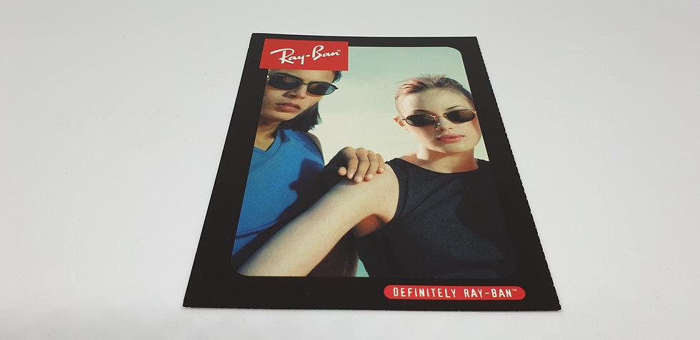 Vintage B&L Ray-Ban Sidestreet Postcard