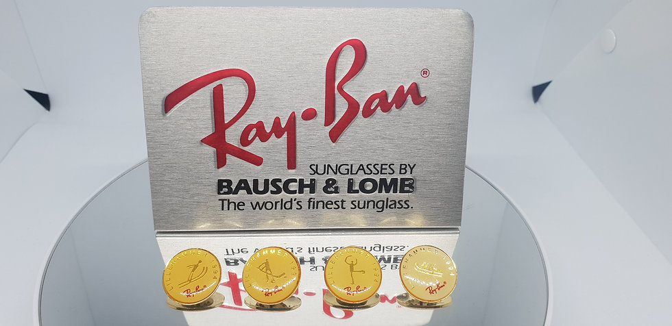 Vintage B&L Ray-Ban Lillehammer 1994 Olympic Games Pin Set