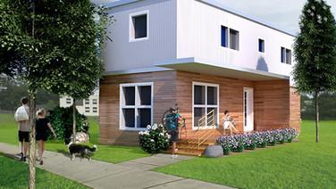 affordable zero energy modular homes, vt