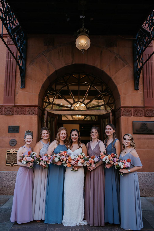 the oxford hotel wedding bridal party