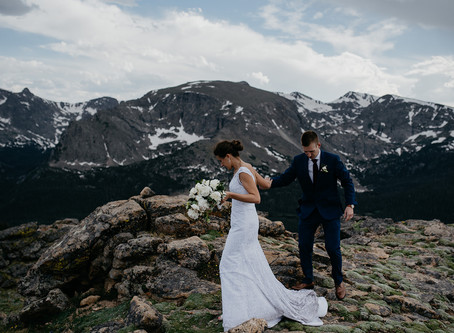 Destination Wedding at Rocky Mountain National Park, Colorado