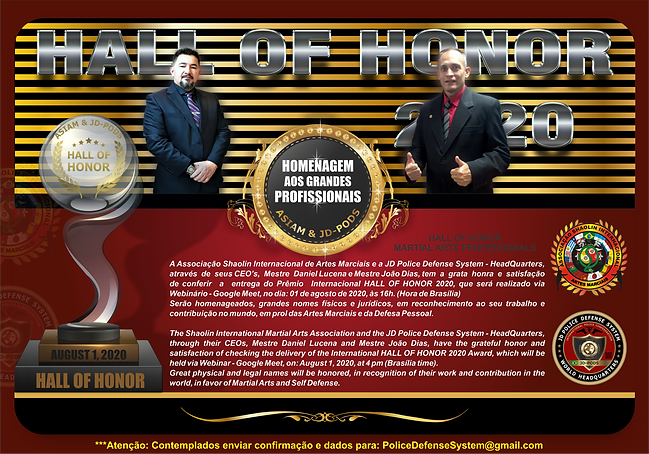 HALL OF HONOR - CARTAZ - CONVITE - FINAL