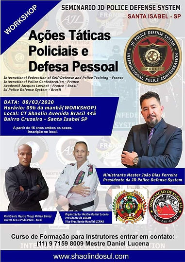 JD-PODS - JD POLICE DEFENSE SYSTEM - METRE JOÃO DIAS