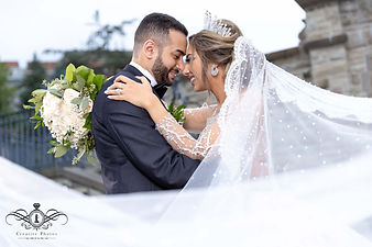 A beautiful summer day and a spectacular wedding dress. Your could actually feel the love midst the bridal party. It was a wedding to remember and cherrish forever