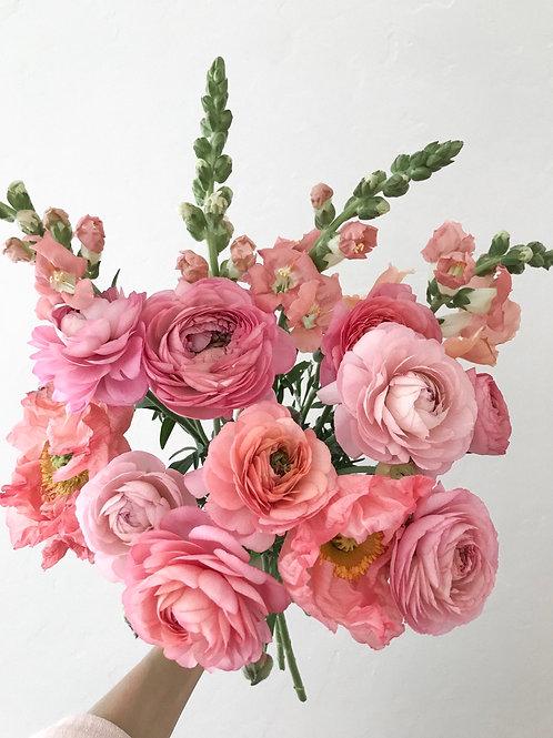 Seasonal blooms bouquet