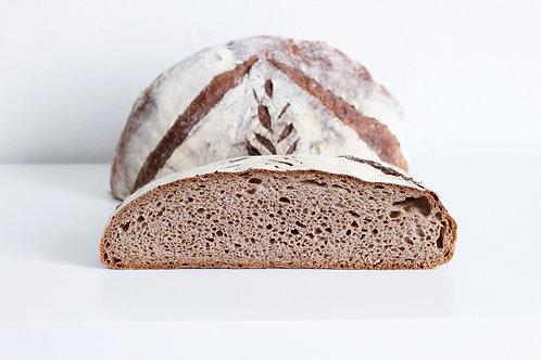 Whole wheat levain