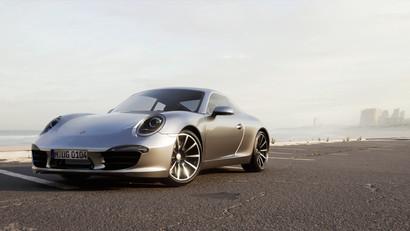 Porsche 911 Cinematics using Ray Tracinng