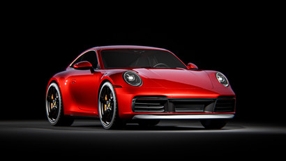 Porsche 992 Turbo S / Unreal Engine & Ra