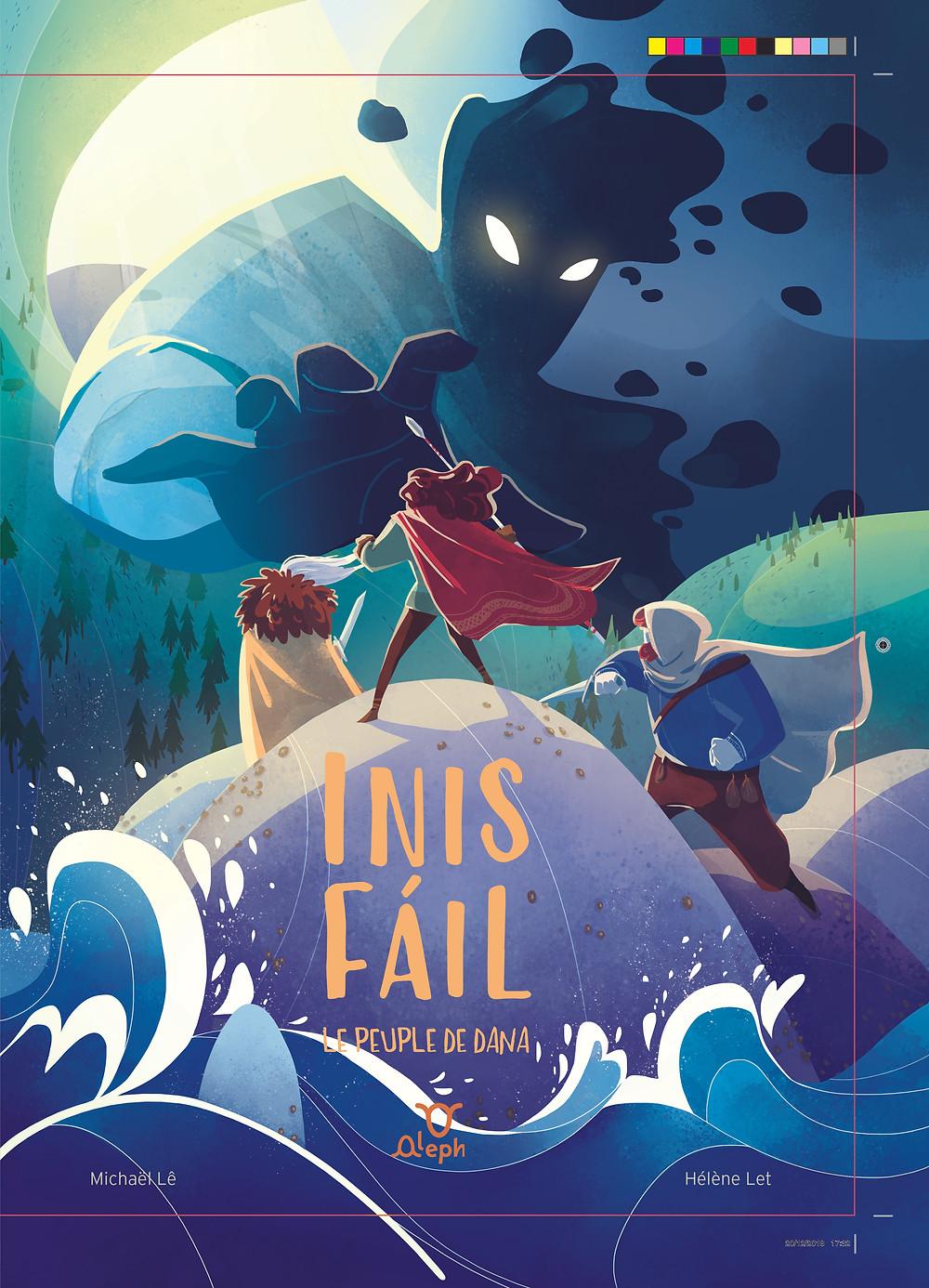 Livre jeunesse Inis Fail- Aleph édition, michael Le, Helene Let