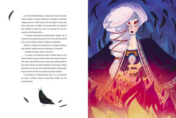 INIS FAIL- La sorcière Morrigan