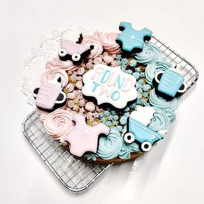 Theme Cookie Cake