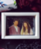 I really love how this couple's portrait