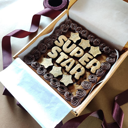 Lettering Cookie-Cake