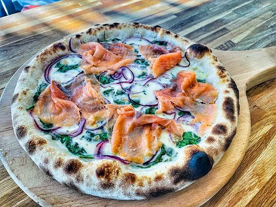 pizza moment saumon fumé.JPG
