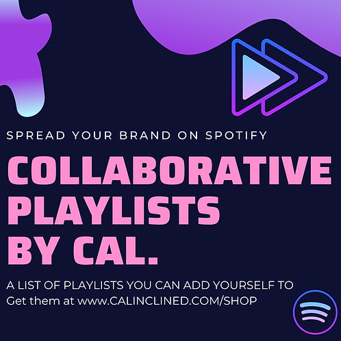 Collaborative Playlists By CAL.