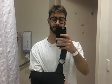 New elbow, who dis?