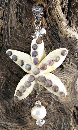 Starfish Ivory w/ raku