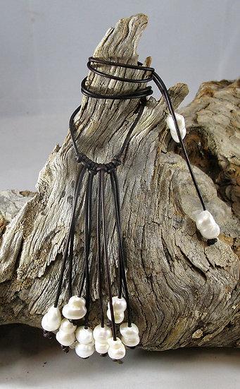 Large Lark Rain Necklace