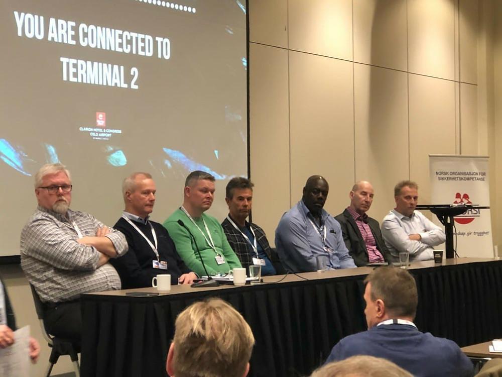 Paneldebatt på Bransjekonferansen 2018